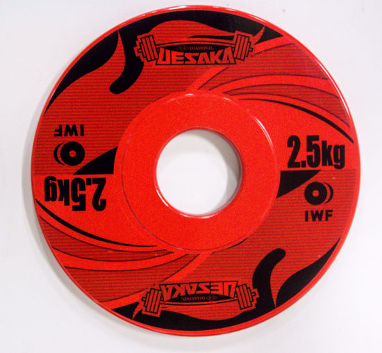Picture of 2.5 Kg Change Plates