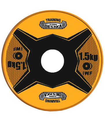 Picture of 1.5 Kg Training Change Plates Pair