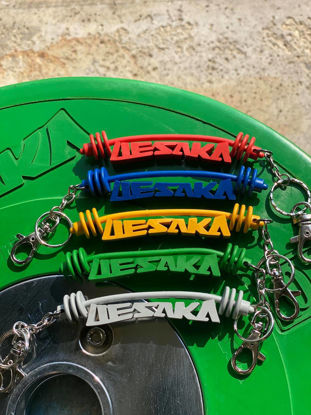 Picture of Uesaka Barbell Keychain